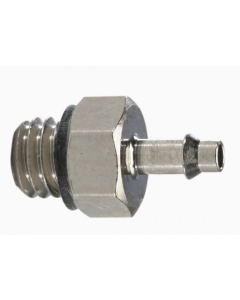 "#10-32 to 1/16"" ID Hose Connector"