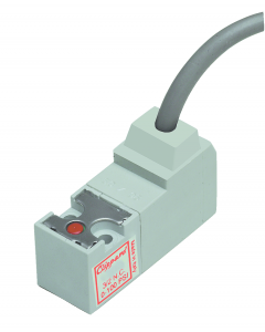 3-Way Latching Valve, Molded Wires, 1.6 mm Orifice, 12 VDC