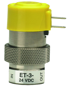 2-Way Elec Valve, Norm-Closed, Low Pres/High Flow, 24 VDC