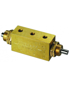 4-Way Double Plunger Valve, #10-32