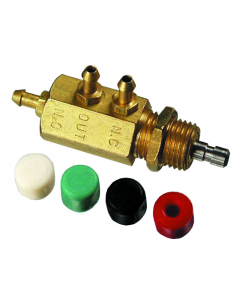 3-Way Normally-Open or Normally-Closed Stem Valve, Metric
