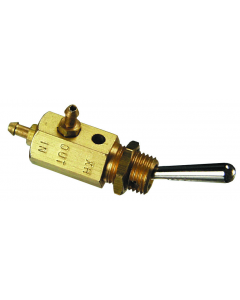 3-Way Normally-Closed Toggle Spool Valve, ENP Steel Toggle, 3-56