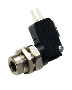 """Miniature Air Switch (less Switch), 65 psig, 1/8"""" NPT Port"""