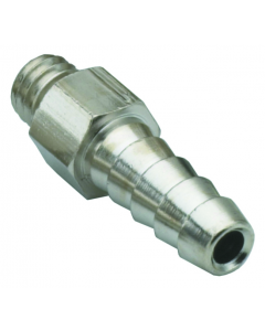 """#10-32 to 1/8"""" Hose Fitting, ENP Brass"""
