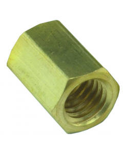 #10-32 Hex Connector, Pack of 10