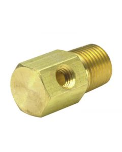 """1/8"""" NPT to #10-32 """"T"""" Fitting"""