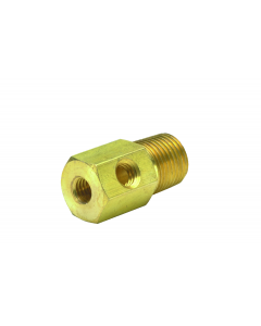"""1/8"""" NPT to #10-32 """"X"""" Fitting"""