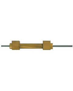 """3/8"""" Cylinder, Double Acting, Block Mount, Double Ram, 2"""" with Rod Threads"""