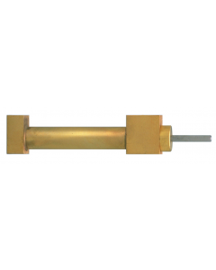 """3/8"""" Cylinders, Dbl Acting, Block Mnt, Sngl Ram, 1"""" with Rod Threads"""