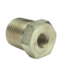 """1/2"""" NPT Male to 1/4"""" NPT Female Reducer, ENP Brass, Pack of 5"""