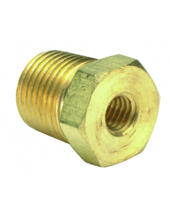 """1/2"""" NPT Male to 1/4"""" NPT Female Reducer, Pack of 5"""