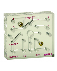 Subplate for R-932 Sequencing System (1 Valve)