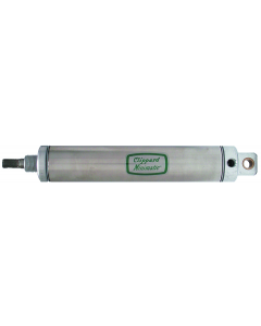 """1 1/2"""" Bore S/S Cylinder, Clevis Mount, Rotating Rod"""