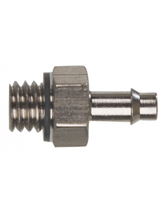 """#10-32 to 3/32"""" ID Hose Connector, Pack of 5"""
