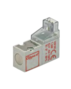 10 mm N-C 2-Way High Flow Valve, 90°, 3.5W, 12 VDC