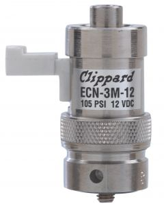 2-Way Elec Valve, Norm-Open, Mfld Mnted, 12 VDC