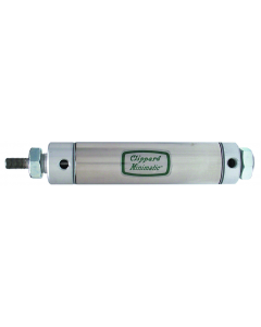 """1 1/2"""" Bore S/S Cylinder, End Mount, Rotating Rod"""