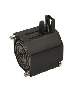 2-Way Electronic Valve, Normally-Closed, Side Pins, 12 VDC
