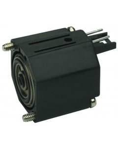 2-Way Electronic Valve, Normally-Closed, Top Pins, 6 VDC