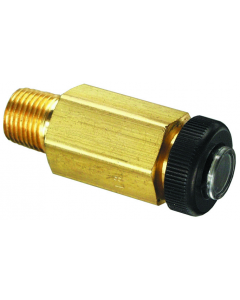 """Air Indicator, Red 1/8"""" Male NPT"""