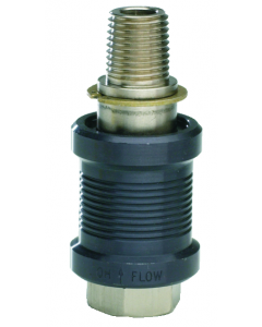 """J-Series 3-Way Sleeve Valve, 1/4"""" Female Inlet, Male Outlet"""