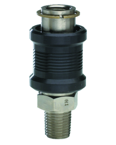 """J-Series 3-Way Sleeve Valve, 1/4"""" Male Inlet, Female Outlet"""