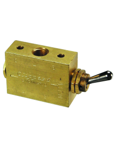 4-Way Toggle Valve, ENP Steel Toggle, G1/8