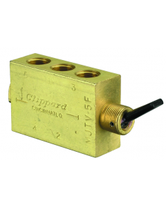 4-Way Toggle Valve, Plastic Toggle, G1/8