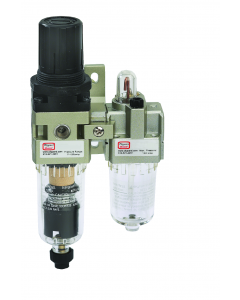 #10-32 Stacking Filter-Regulator-Lubricator, 85 l/min