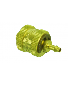 "Quick Connect Cap, 1/16"" Hose, Single Barb"