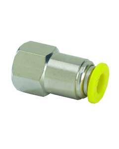 """Push-Quick Female Connector, 3/8"""", 1/4"""" NPT, Pack of 10"""