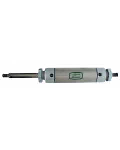 """2"""" Bore S/S Cylinder, Stud Mount, Double Rod"""