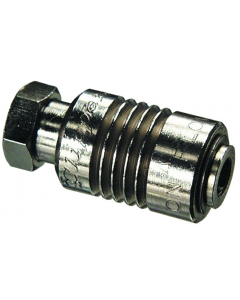 2-Position 2-Way Sleeve Valve, #10-32 Female Inlet / Male Outlet