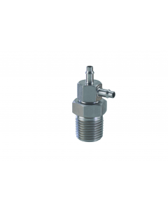 """1/8"""" NPT to 3/32"""" ID Hose Swivel, Pack of 5"""