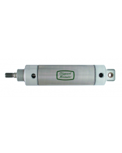 """2"""" S/S Cylinder, Universal Mount, Rotating Rod"""