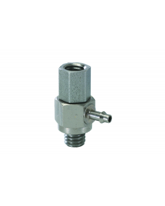 """#10-32 to 1/16"""" ID Hose Universal Fitting"""