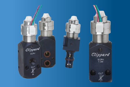 SCPV Stepper Controlled Proportional Valves